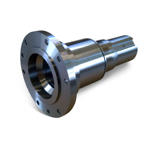 Shaft flanged